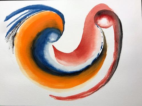 Watercolor: Abstract - Mask 111417