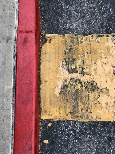 Photography: Street Photography - Speed Bump in Daylight 110917