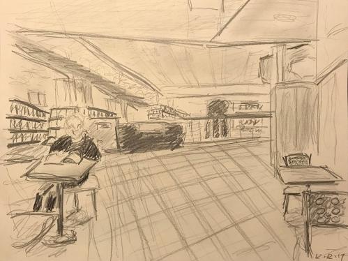 Sketch: Break Time at Work 121217