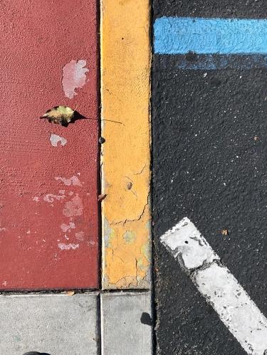 Photography: Street Photography - Parking Lot Math Machinery 121717