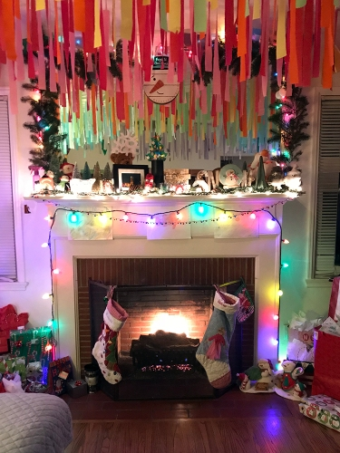 Family Snaps: Hearth on Night Before Christmas 122417