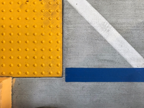 Photography: Street Photography - White Blue 80 Yellow Dots 120717