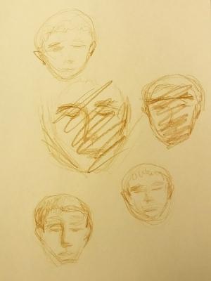 Sketch: Portrait Practice- William 122317