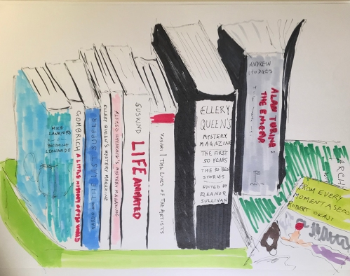 Marker Sketch: Books to Start the Year 010218
