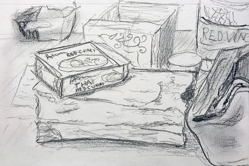 Sketch: Lunch Time at Work 010618