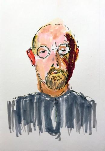 Sketch: Self Portrait - Indecisive Moment 010818
