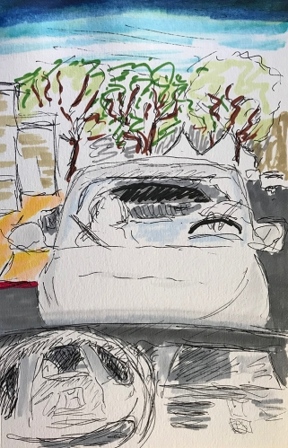 Marker Sketch: Other People Have Break Time Too 011418