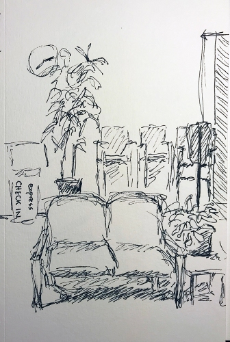 Pen and Ink: Two Thirty-Five 012418