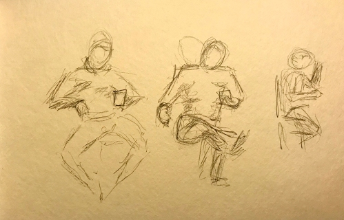 Sketch: Reading Figure in Two Positions with Thinking Figure 020818
