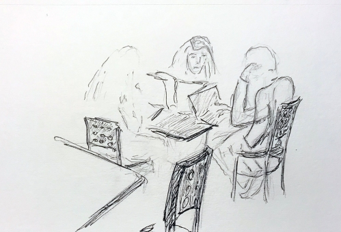 Sketch: Pencil, Pen and Ink - Study Group