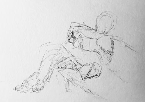 Sketch: Waiting Figure 020718