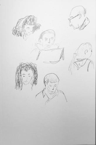 Sketch: Pencil - Bold Portraits