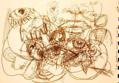 Sketch: Pen and Ink - Prime Suspect #2