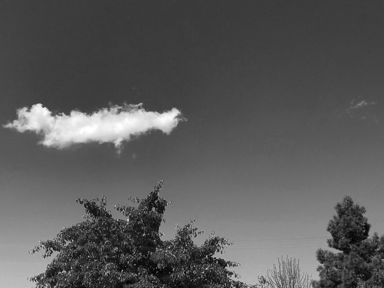 Photograph: Two Clouds - Bug Puff, Little Puff