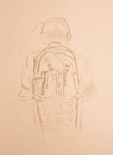 Sketch: Pencil - Pack Man