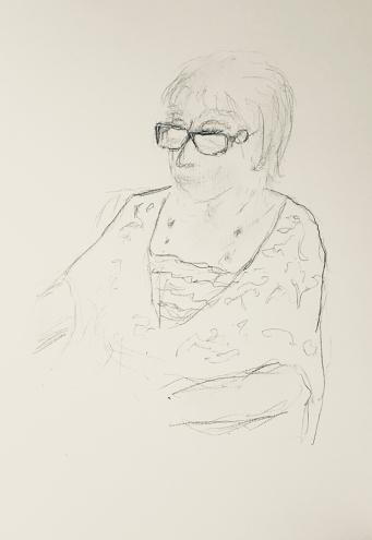 Sketch: Pencil - Partial Sketch