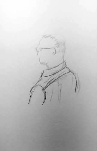 Sketch: Pencil - Ageless Man