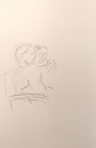 Sketch: Pencil - The Couple
