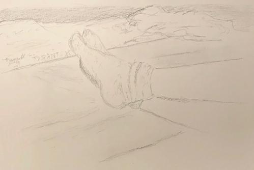 Sketch: Pencil - Feet