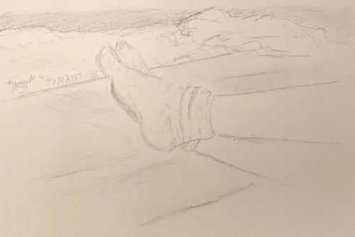 Sketch: Pencil - Feet