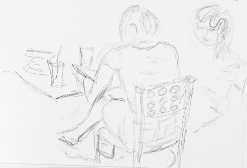 Sketch: Pencil - One Out Of Two