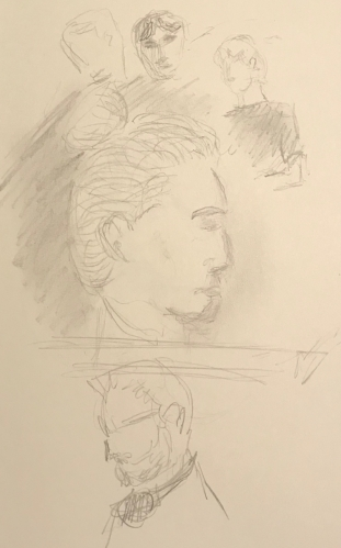 Sketch: Pencil - Face Time - Practice