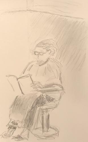Sketch: Pencil - Hair Raising Experience