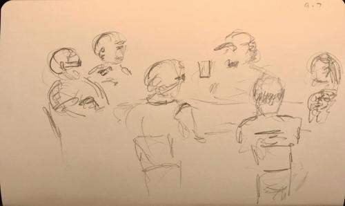 Sketch: Pencil - Book Club