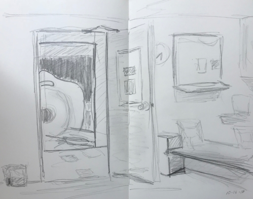 Sketch: Pencil - Deep Waiting: Beyond the Waiting Room 101618