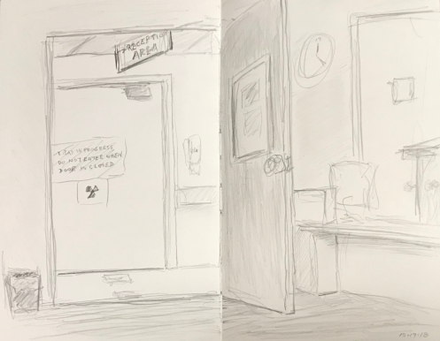 Sketch: Pencil - Extreme Waiting