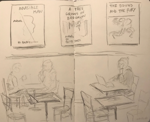 Sketch: Pencil - Readers' Environment