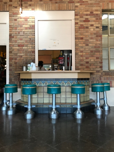 Photography: Street Photography - Deco Stools at Railway Station