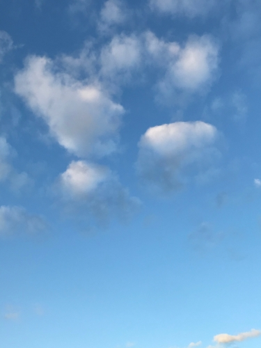 Photography: Sky Photography - Blue Gradient Interrupted