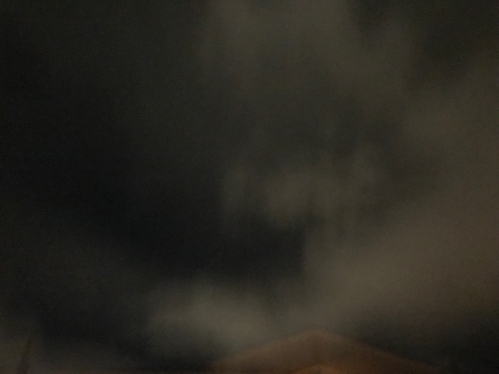 Photography: Sky Photography - Foggy Night and Rooftop
