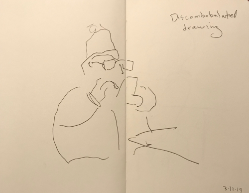 Sketch: Pen and Ink - Discombobulated Drawing