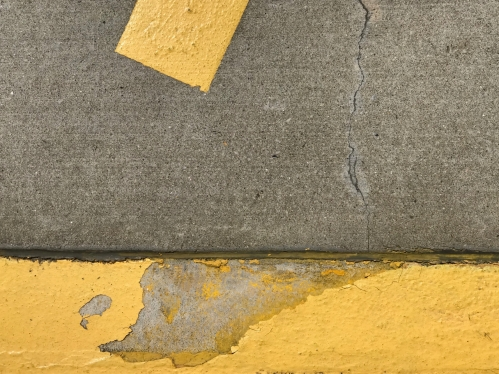 Photography: Street Photography - Parking Lot Accent