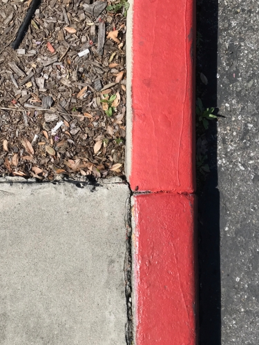 Photography: Street Photography - Red Black Divider