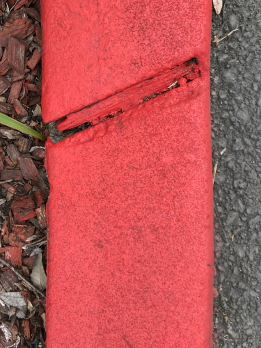 Photography: Street Photography - Curbside, Fresh Paint