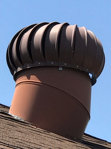 Photography: Street Photography - Vent on Top of a House