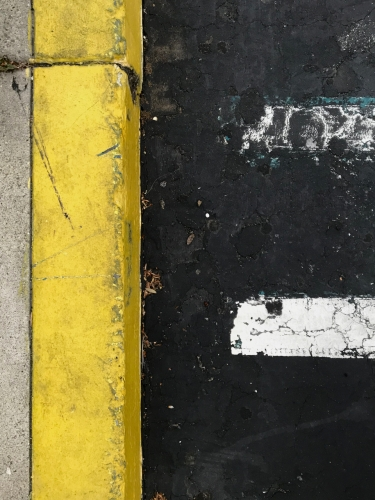 Photography: Street Photography - Yellow Curb Equals...