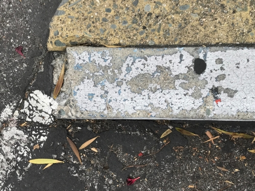 Photography: Street Photography - Broken Curb
