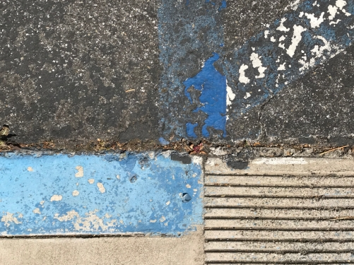 Photography: Street Photography - Handicap Markings in Decrepitude