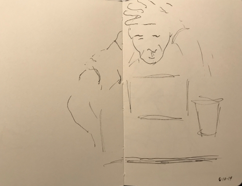 Sketch: Pen and Ink - At an Impasse