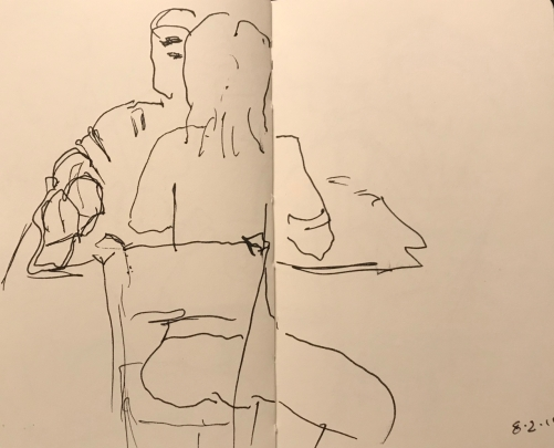 Sketch: Pen and Ink - Attraction