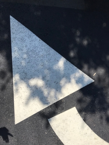 Photography: Street Photography - Brand New Arrow in Shadow