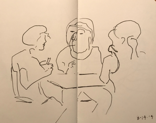 Sketch: Pen and Ink - How's Tricks?