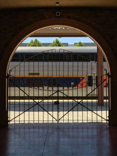 Photography: Street Photography - Leaving, Train Station