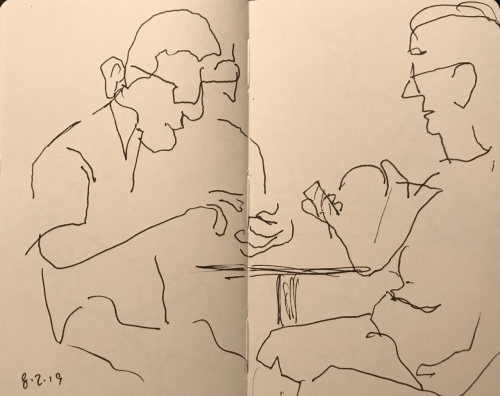 Sketch: Pen and Ink - These Phones Can Be So Confusing