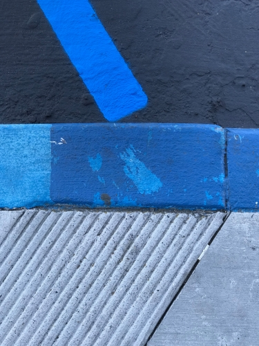Photography: Street Photography - Composite Chevron in Blue and Blue Gray