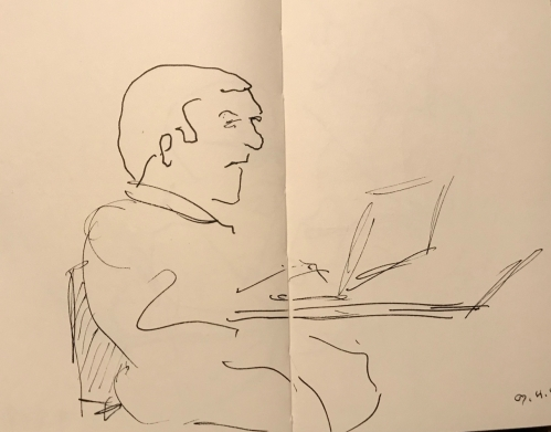 Sketch: Pen and Ink - Intractable Problem